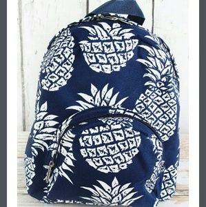 Handbags - New Small Navy Pineapple Backpack!